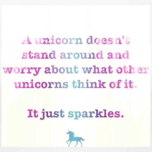 Unicorn quote - Women's Premium T-Shirt