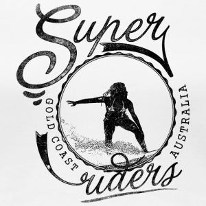 super_surfer_black - Women's Premium T-Shirt