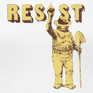 Smokey Bear Says Resist Tee Shirt - Women's Premium T-Shirt