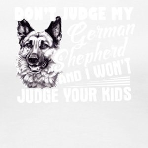 German Shepherd Tshirt - Women's Premium T-Shirt