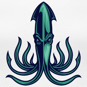 octopus_green - Women's Premium T-Shirt
