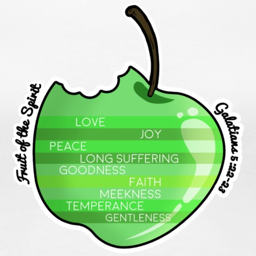 Apple - Fruit of the Spirit - Women's Premium T-Shirt