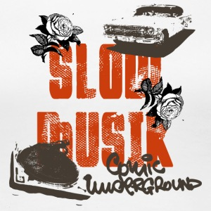 slow music - Women's Premium T-Shirt