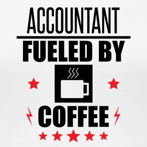 Accountant Fueled By Coffee - Women's Premium T-Shirt