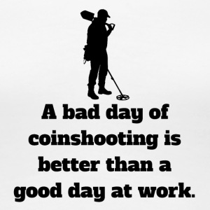 Bad Day Of Coinshooting - Women's Premium T-Shirt