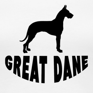 Great Dane Silhouette - Women's Premium T-Shirt