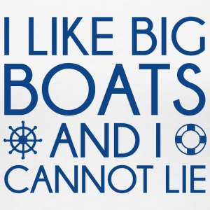 I Like Big Boats - Women's Premium T-Shirt