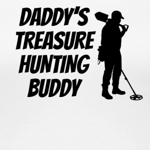 Daddy's Treasure Hunting Buddy - Women's Premium T-Shirt