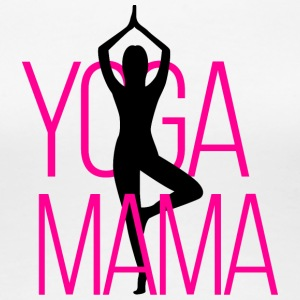 Yoga Mama - Women's Premium T-Shirt
