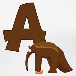 A Is For Anteater - Women's Premium T-Shirt