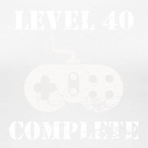 Level 40 Complete 40th Birthday - Women's Premium T-Shirt