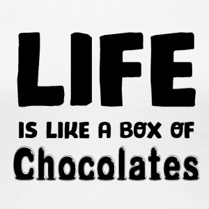 Life is a box of Chocolates - Women's Premium T-Shirt