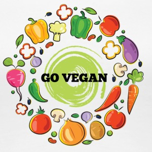 Go vegan - Women's Premium T-Shirt