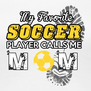 SOCCER MOM - FOOTBALL MOM - Women's Premium T-Shirt