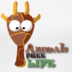 T SHIRT ANIMAL FREE LIFE3 - Women's Premium T-Shirt