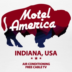 The Motel Usa Indiana - Women's Premium T-Shirt