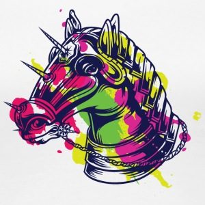 kNIGH HORSE COLOR - Women's Premium T-Shirt