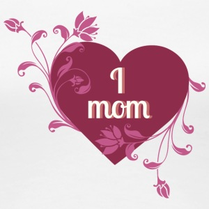 i_love_mom_red_heart - Women's Premium T-Shirt