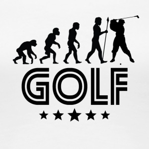 Retro Golf Evolution - Women's Premium T-Shirt