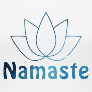 Namaste shirt design - Women's Premium T-Shirt