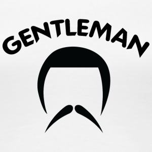 GENTLEMAN_4_black - Women's Premium T-Shirt