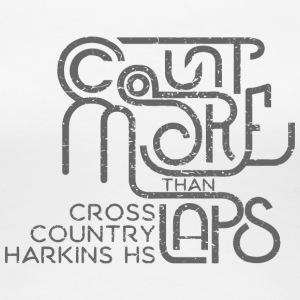 CROSS COUNTRY HARKINS HS - Women's Premium T-Shirt