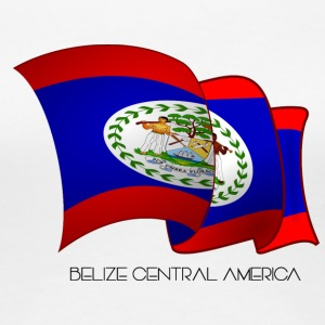 Belize Flag - Women's Premium T-Shirt