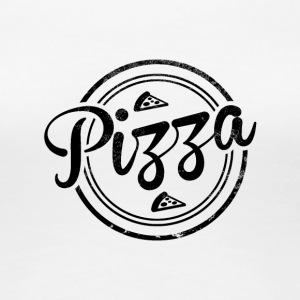 Vintage Pizza - Women's Premium T-Shirt