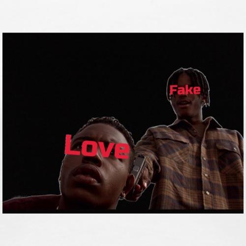 Fake Love , Old Dayz - Women's Premium T-Shirt