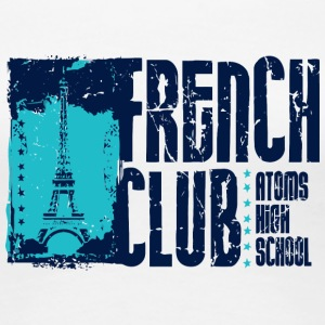 French Club Atoms High School - Women's Premium T-Shirt