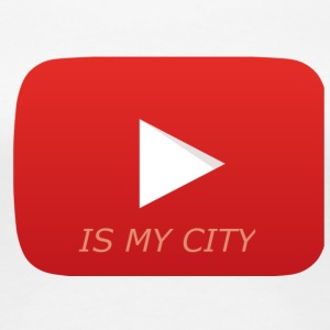 Youtube is my city - Women's Premium T-Shirt