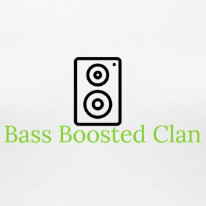 Bass Boosted Clan Brand - Women's Premium T-Shirt