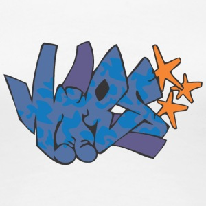 mars_graffiti - Women's Premium T-Shirt