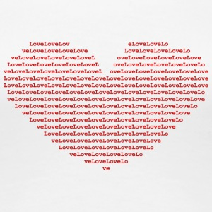 Isle of Ascii red Heart | by Isles of Shirts - Women's Premium T-Shirt