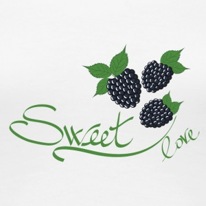 blackberry sweet fruit - Women's Premium T-Shirt
