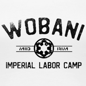 Wobani Labor Camp - Women's Premium T-Shirt