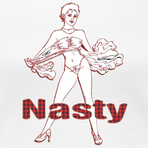 nasty_girl - Women's Premium T-Shirt