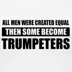 men trumpeters design - Women's Premium T-Shirt