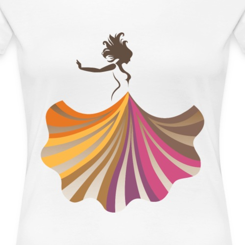Girl Dressed - Women's Premium T-Shirt