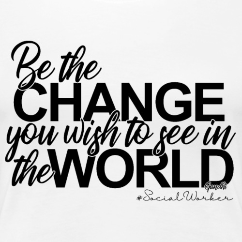BetheChange - Women's Premium T-Shirt
