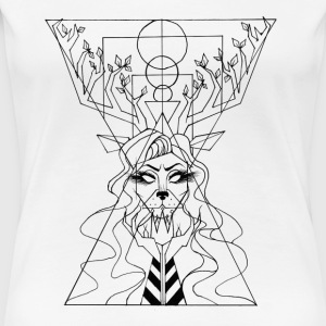 Queen of the wild - Women's Premium T-Shirt