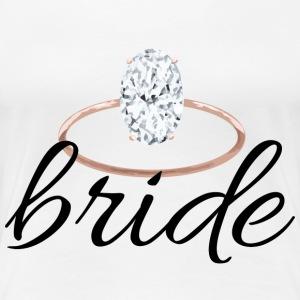 bride with ring - Women's Premium T-Shirt