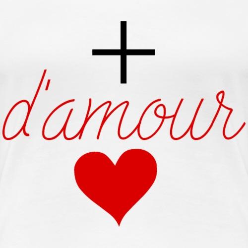 Plus Damour - Women's Premium T-Shirt