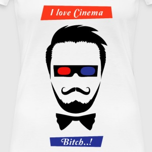 i love cinema... - Women's Premium T-Shirt