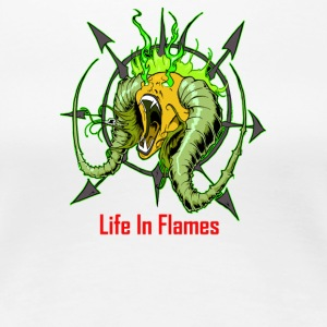 Life In Flames - Women's Premium T-Shirt