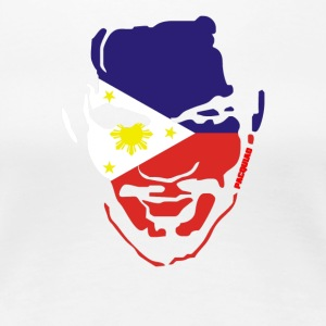Filipino Flag On Manny Pacquiao - Women's Premium T-Shirt