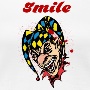 EVIL_CLOWN_21_smile - Women's Premium T-Shirt