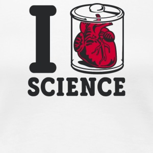 I Heart Specimen Science - Women's Premium T-Shirt