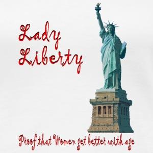 lady liberty - Women's Premium T-Shirt