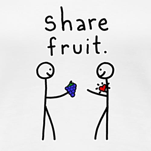 Share Fruit - Women's Premium T-Shirt